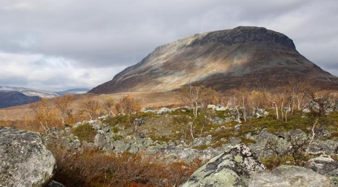 Kilpisjärvi Saana tunturi Suurtunturit Käsivarren Lappi Pohjois-Lappi Enontekiö