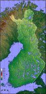 suomen korkeussuhdekartta