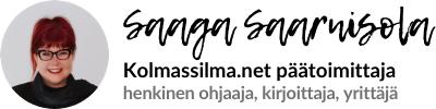 Saaga Saarnisola - Henkinen ohjaaja - Vapaa Kirjoittaja - Yrittäjä