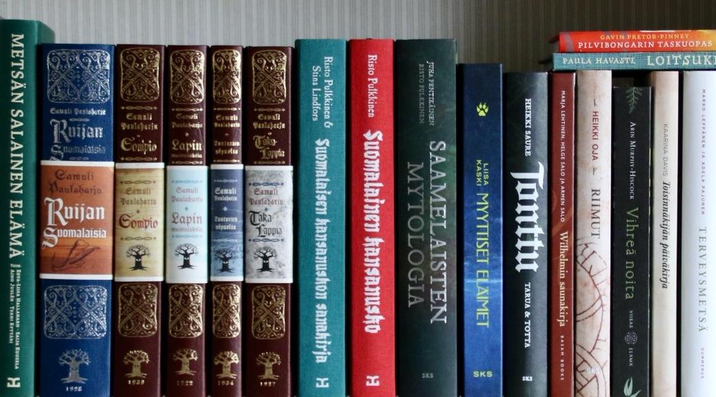 Pakanallinen kirjasto Luonnon Pakana Kirjat Pakanahenkistä lukemista Luonnonpakanan kirjahylly Luontomystiikka Mytologiat Myytit Luonnnonnoita