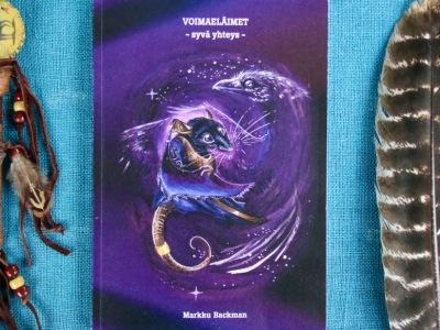 Voimaeläimet Voimaeläin Voimaeläinkirja Shamaani Markku Backman Mikä on sinun voimaeläimesi