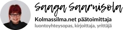 Saaga Saarnisola - Yrittäjä - Vapaa kirjoittaja - Luontoyhteysopas
