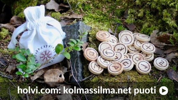 Riimukivet Riimumerkit Riimukirjoitus Kolmas Silmä Puoti by Saaga Saarnisola