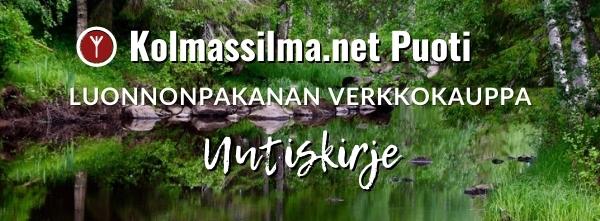 Kolmassilma.net Puoti Luonnonpakanan verkkokauppa Uutiskirje