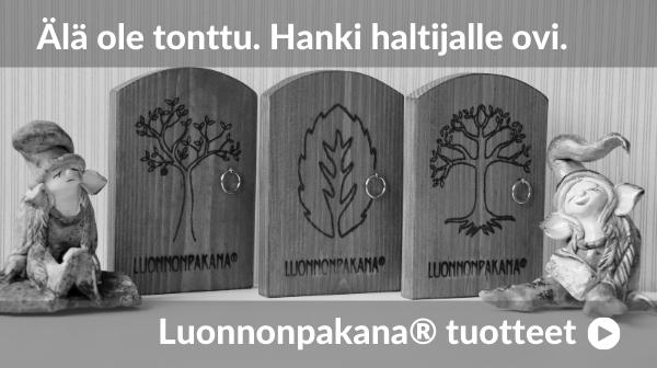 Luonnonpakana Haltijaovi Tonttuovi Haltijaperinne Tonttu-usko Kolmas Silmä Saaga Saarnisola