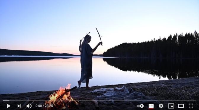 Symbolit ja merkitykset Pakana ohjelmat Luontodokumentit Noita Symbolitutkija Taiteilija Jonna Jinton Sweden